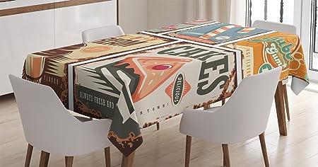 Vintage Decor Mantel por Ambesonne, Pop Art estilo Old School ...