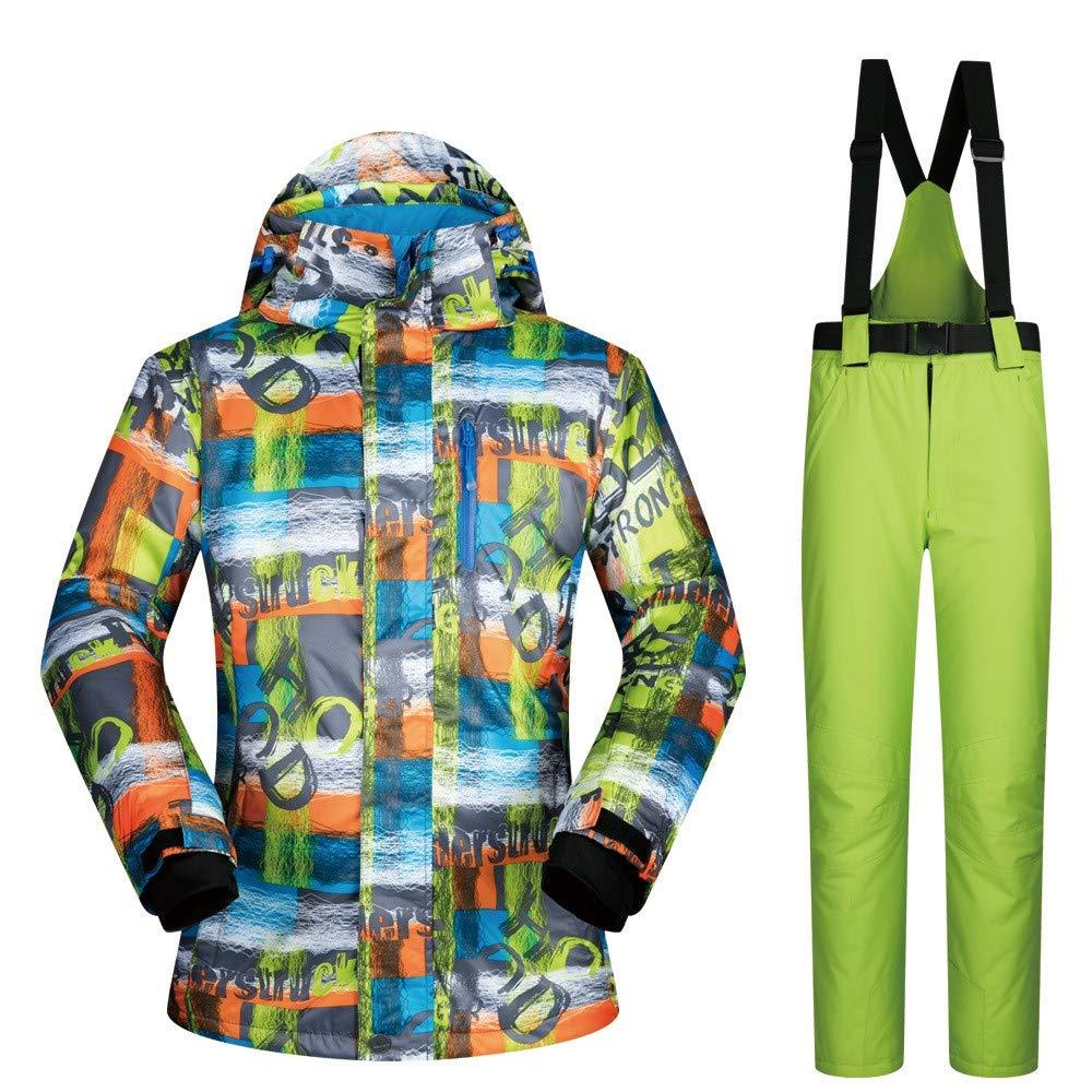 Pantalone da da da Sci da Uomo, Impermeabile, Caldo, 2 Set AddensatoB07L2Q15RVL F | Qualità E Quantità Assicurata  | nuovo venuto  | Fai pieno uso dei materiali  | Vendita Calda  | Acquisto  | Il Più Economico  8df79d