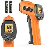 ThermoPro TP30 Digital Infrared Thermometer Gun Non Contact Laser Temperature Gun -58°F ~1022°F (-50°C ~ 550°C) with Adjustab
