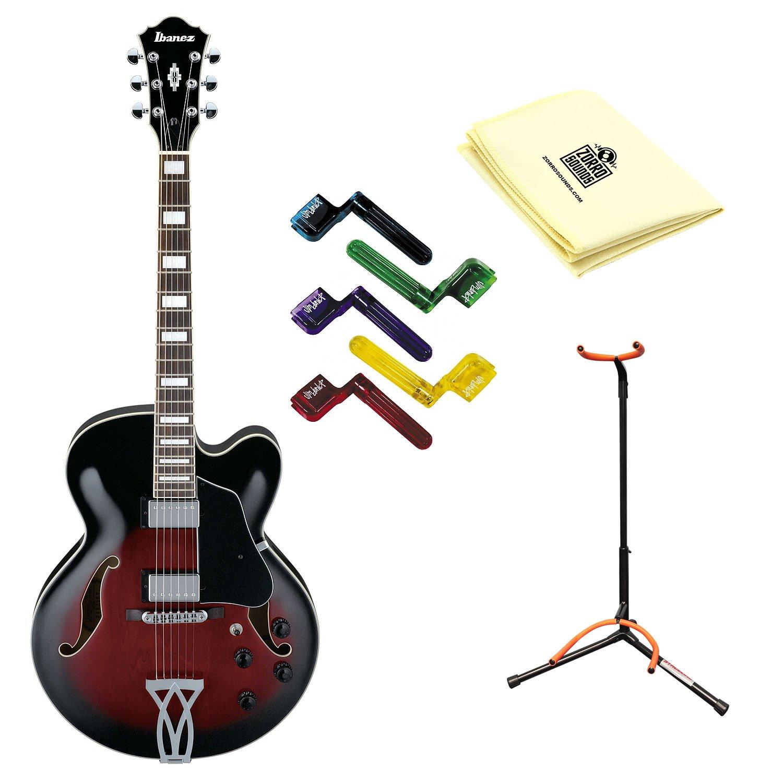 Ibanez af75trs guitarra eléctrica cuerpo hueco en caoba con gamuza ...