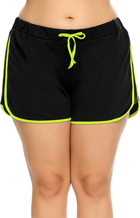Amazon.com: Involand - Pantalones cortos para mujer con ...