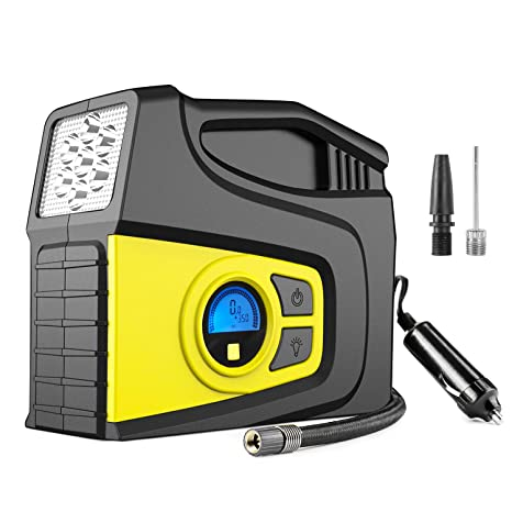 Mobile Air Compressor >> Amazon Com Balight Portable Air Compressor Pump 12v 120psi Auto