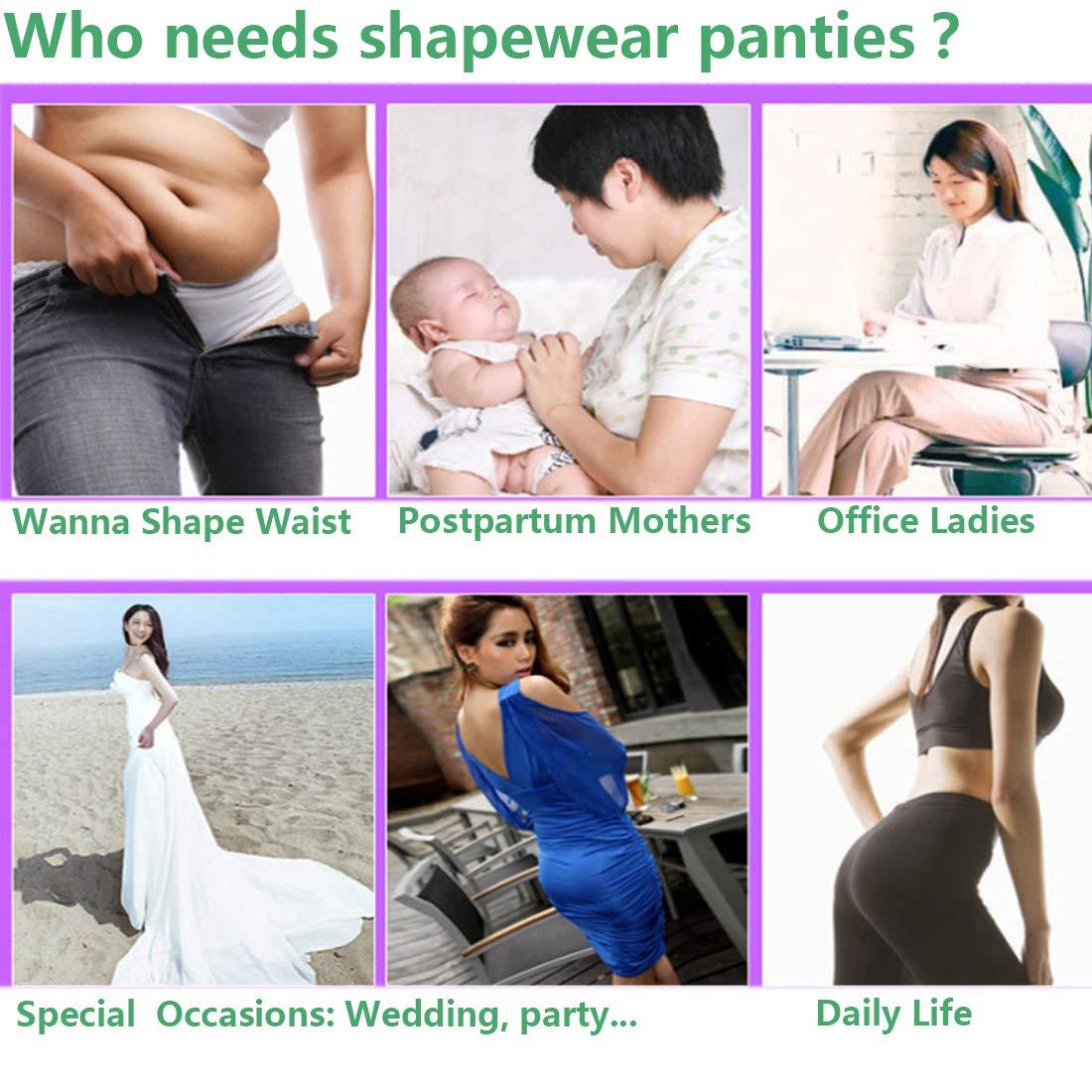 High Waist Slip Shorts for Under Dresses Thigh Slimmer Shapewear Shorts Tummy Control Body Shaper Women