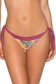 6fa1d021c10 Amazon.com: B Swim Waterfall Hi-Neck Bikini Top Swimsuit: Clothing