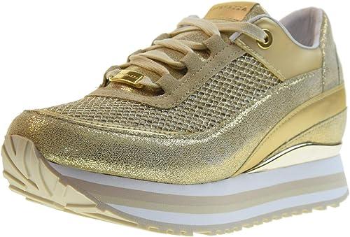 Apepazza Scarpe Donna Sneakers Basse con Zeppa Interna RSD27