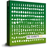 商用OK!ツリーシルエット(407種類以上,木と木の葉のシルエットイラスト素材集)