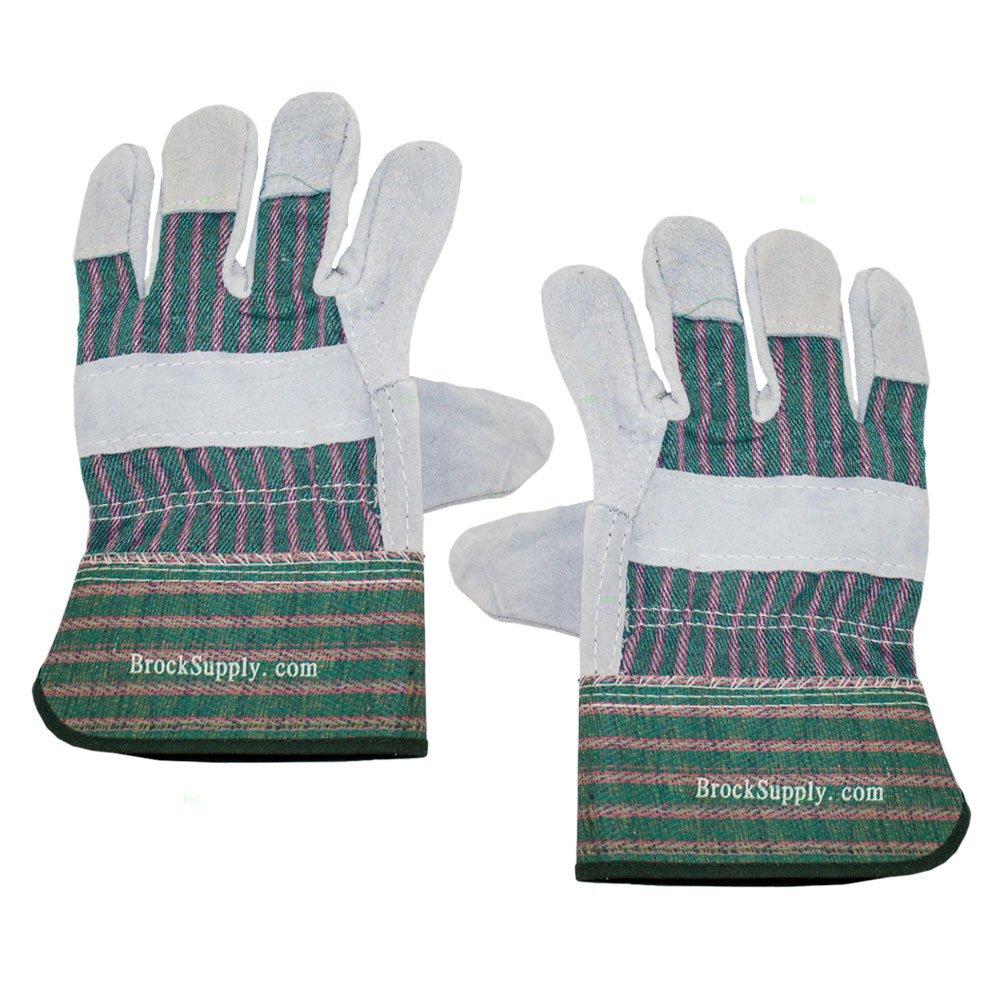 12組 1ダース ヘビーマテリアル作業安全手袋 シングルレイヤー レザー 分割パーム 自動車 倉庫 工業 ガーデニング 一般用途 B079LYQXGB