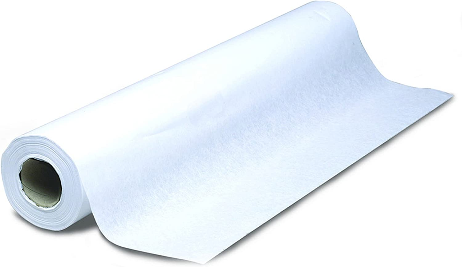 """AMMEX Changing Table Paper -Moisture Resistant Changing Table Paper, 14"""" x 225' Roll, Case of 12 Rolls"""