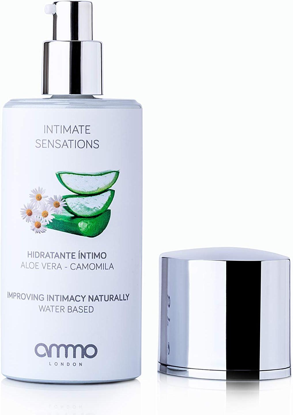 Ammo London Hidratante Íntimo Aloe y Camomila - 80 ml