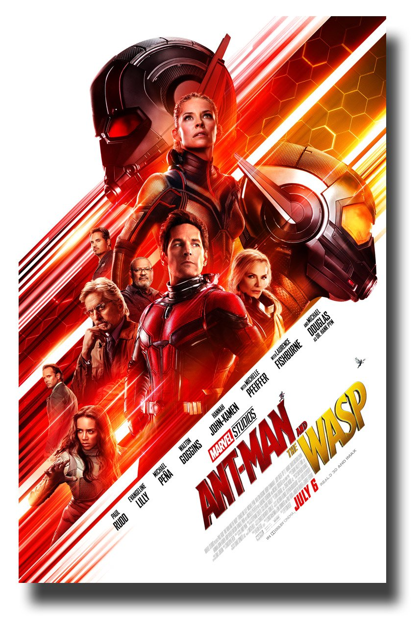 Ant-Man and The Wasp Poster Movie Promo 11 x 17 inches AntMan Main WT