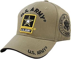 JM WARRIORS U.S. Army Cotton Cap (Khaki) 355a14a3cb9f