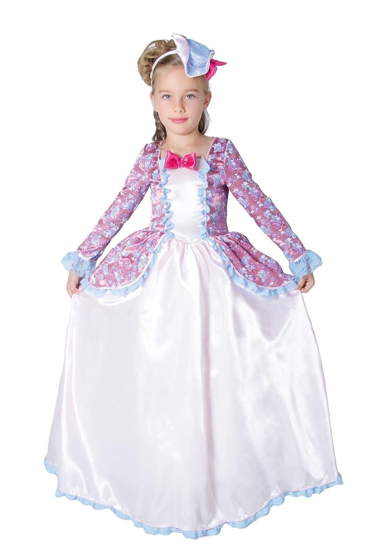 César - Disfraz de princesa para niña, talla 5-7 años (F115-002): Amazon.es: Juguetes y juegos