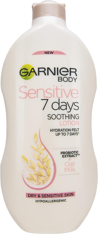 Garnier Garnier Sensitive 7 días loción corporal de leche de avena: Amazon.es: Belleza