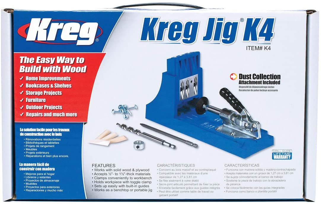 The Kreg Pocket-Hole Jig Mini FREE SHIPPING