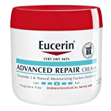 Eucerin Advanced Repair Cream - Fragrance Free, Full Body Lotion for Very Dry Skin - 16 oz. Jar | ⭐️ Exclusive