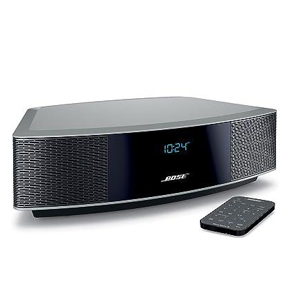 amazon com bose wave radio iv platinum silver home audio theater rh amazon com bose wave radio 3 owners manual bose wave radio cd service manual
