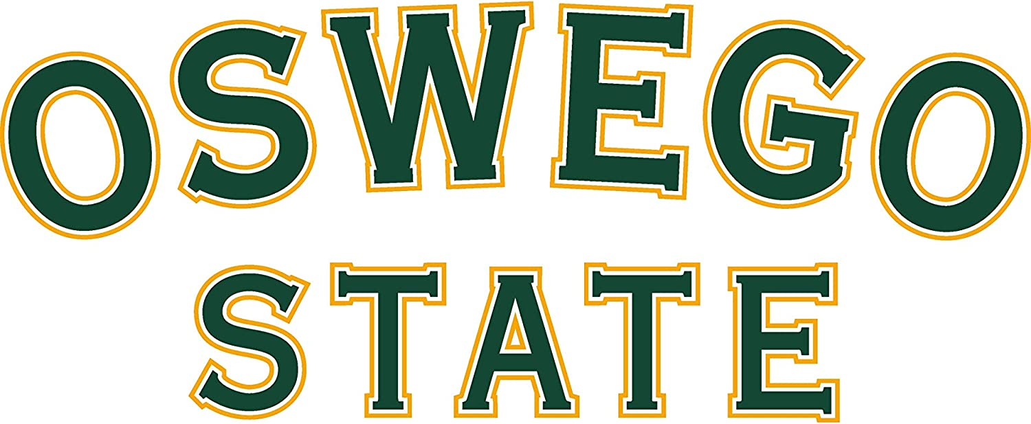 NCAA Oswego State Lakers 49osw-1 Womens Crop T-Shirt
