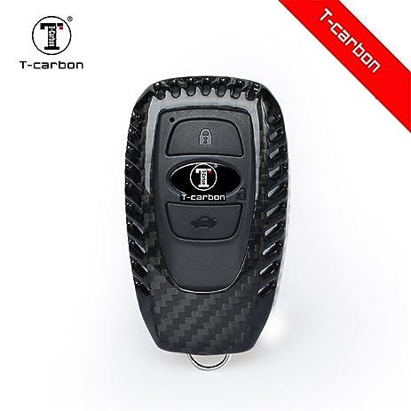 Amazon Com Carbon Fiber Key Fob Cover For Subaru Key Fob Remote Key