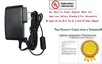"""AC Adapter Power Supply Cord For Digital Labs K101 7/"""" Digital Picture Charger"""