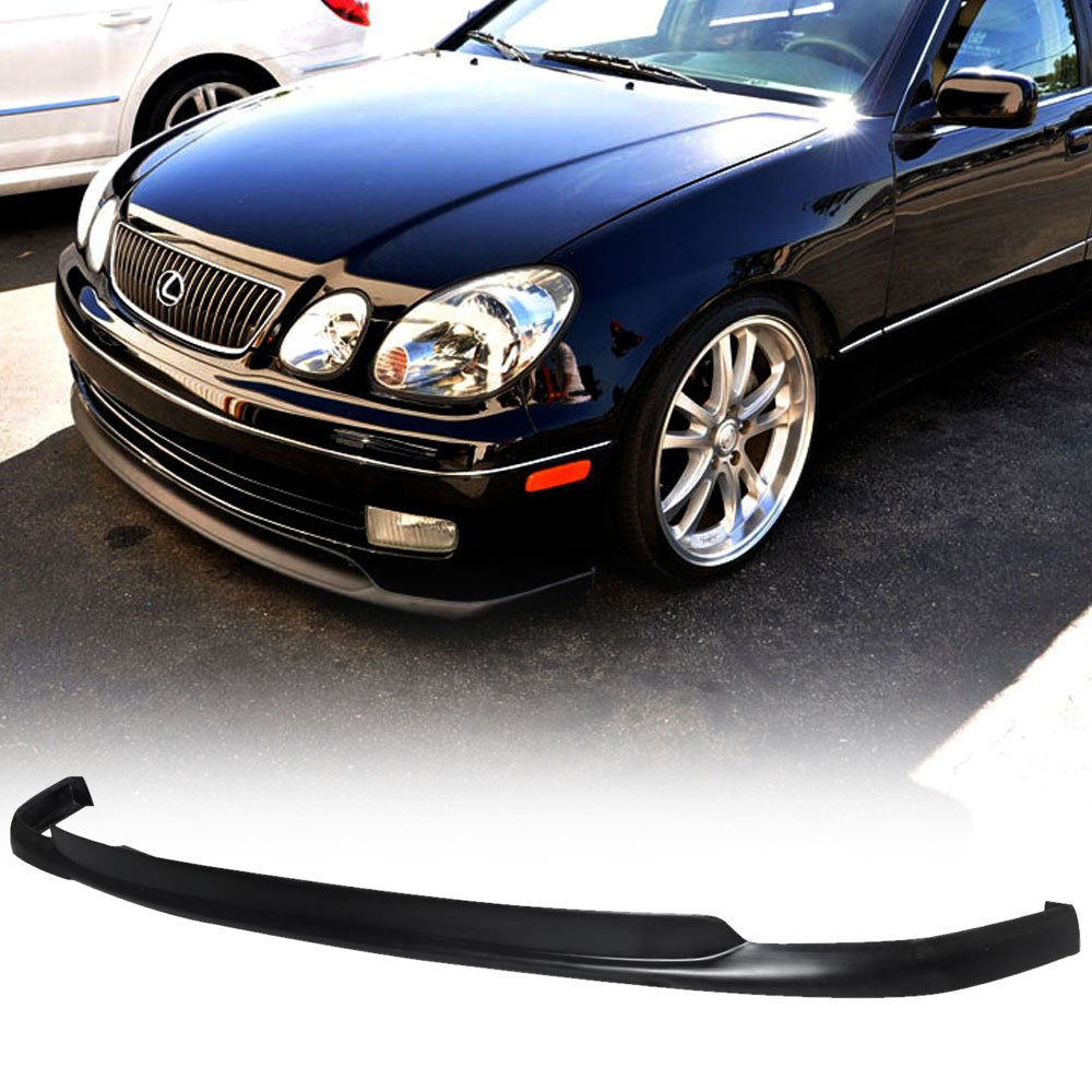 98-05 Lexus GS300 GS400 Aristo Vip Urethane Add-On Front Bumper Lip Spoiler Bodykit Spoiler