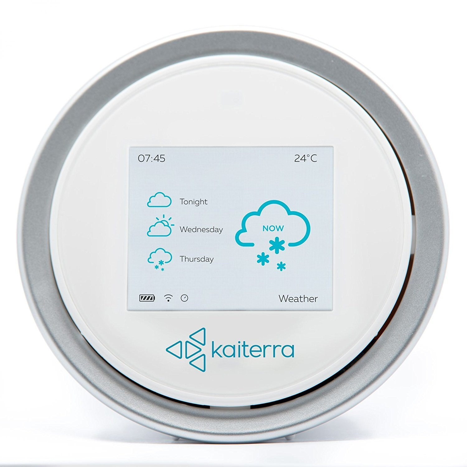 Air Quality Monitor - LaserEgg 2 with PM2.5 Pollution Sensor plus Temperature and Humidity Sensors. Compatible with Apple HomeKit, iPhone& Android App