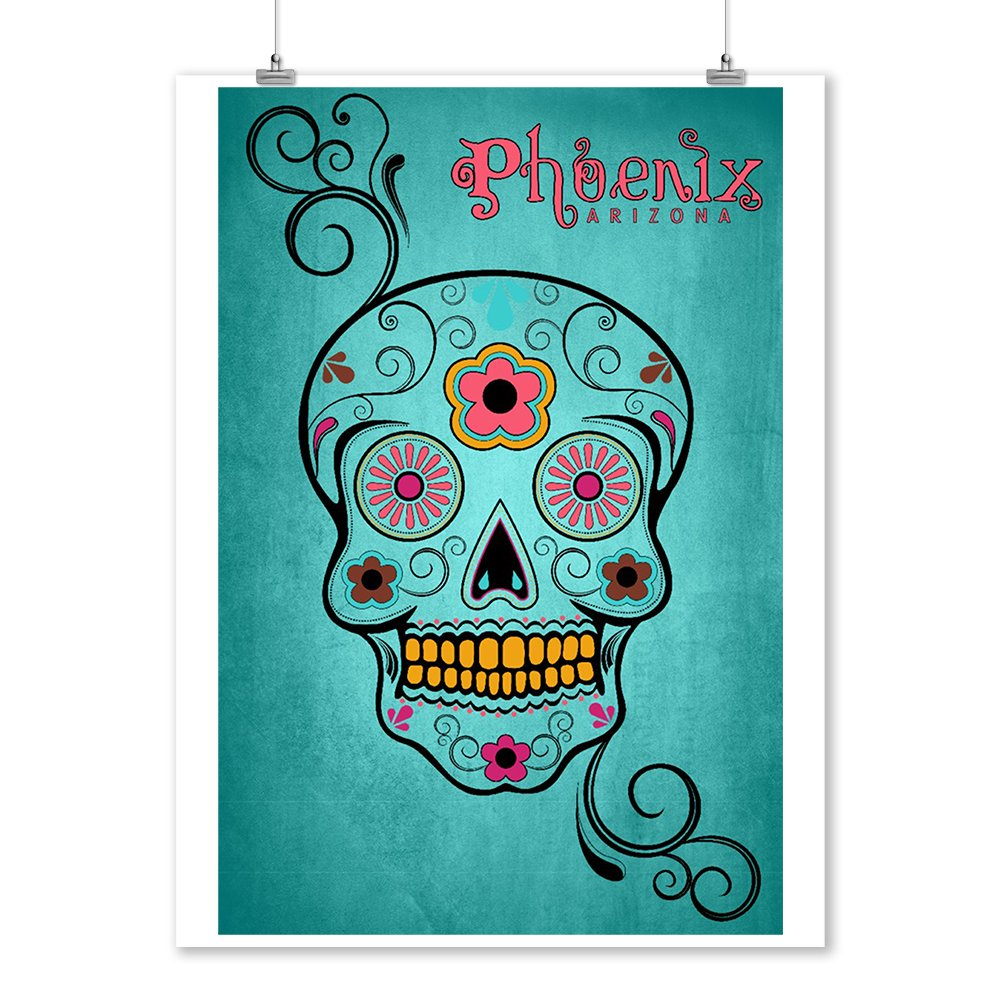 Amazon.com: Phoenix Arizona - Day of the Dead - Sugar Skull and ...