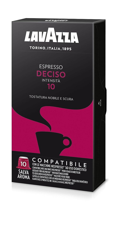 Lavazza Espresso Deciso - Confezione da 100 Capsule Compatibili Nespresso: Amazon.es: Alimentación y bebidas