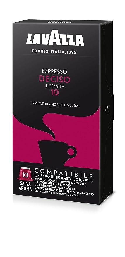 150 opinioni per Lavazza Capsule Compatibili Nespresso Espresso Deciso- 10 confezioni da 10
