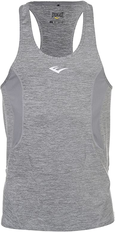 Everlast Hombre Training Stringer Camiseta Sin Mangas Gris Marga ...