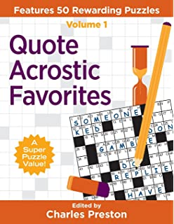photo relating to Acrostic Puzzles Printable referred to as The Contemporary York Occasions Acrostic Puzzles Quantity 11: 50 Partaking