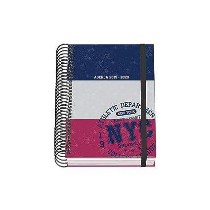 Agenda Escolar Premium (D/P)- Dohe - A6 - NYC: Amazon.es ...