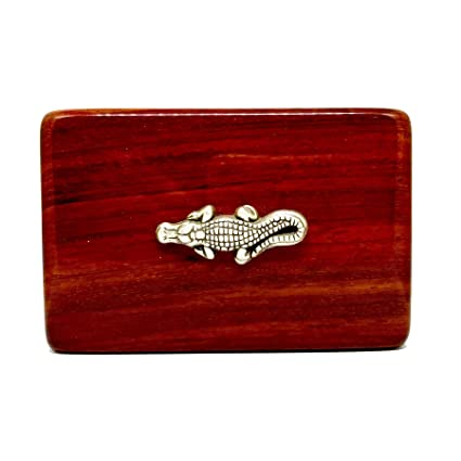 Amazon alligator business card holder rosewood business card alligator business card holder rosewood business card box reheart Choice Image