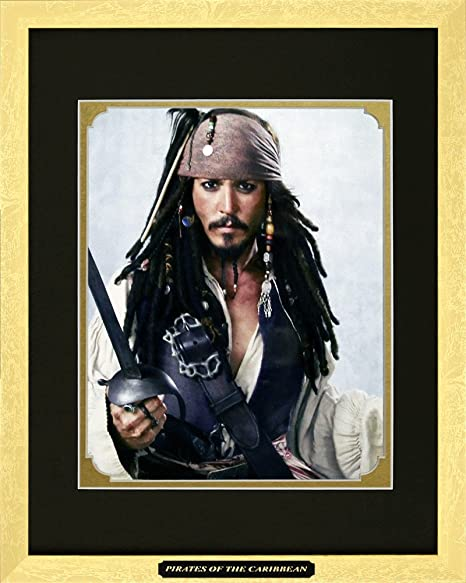 Canvas Picture Captain Jack Sparrow Wall Art Poster Pirates Of The Caribbean