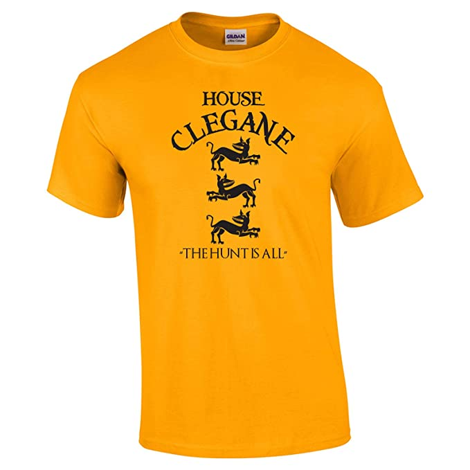 205a2e3197 Swaffy Tees 12 House Clegane Funny Men's T Shirt: Amazon.ca: Clothing &  Accessories