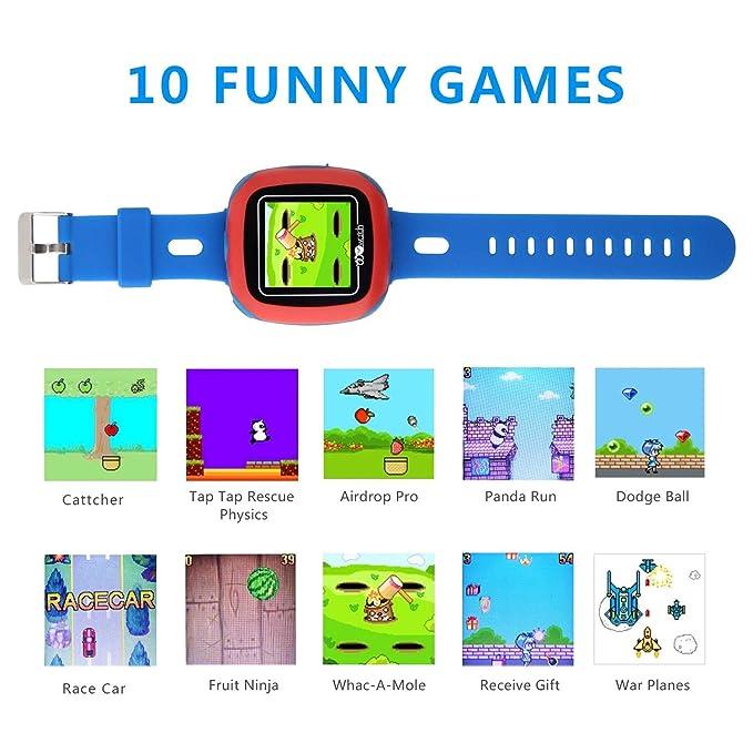 Bohongde - Reloj Inteligente para niños con Pantalla táctil ...