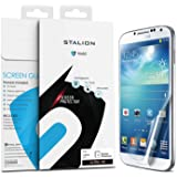 Galaxy S4 Screen Protector : Stalion Shield Ultra HD Armor Guard Protection Samsung Galaxy S4 [Lifetime Warranty] Scratch Resistant + True Touch Accuracy + Anti-Fingerprint + High Quality Japanese PET Material + Crystal Cle