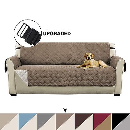 Amazon.com: Turquoize - Protector de sofá reversible de ...