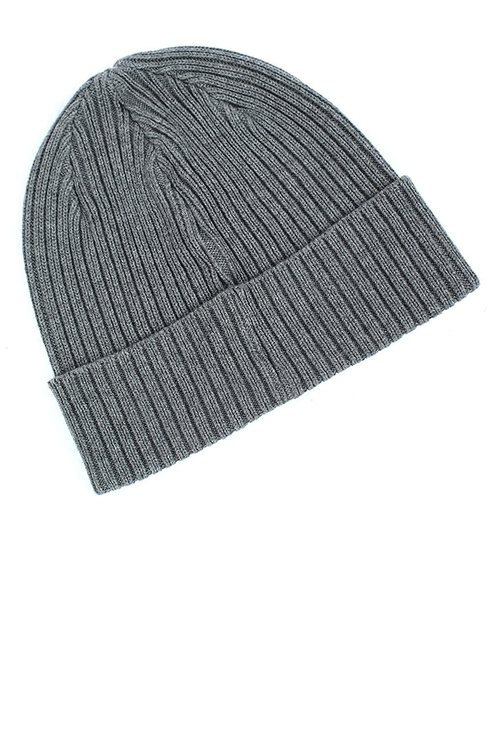 ad69694766ade 883 POLICE Respa Men s Grey Beanie Hat  Amazon.co.uk  Clothing