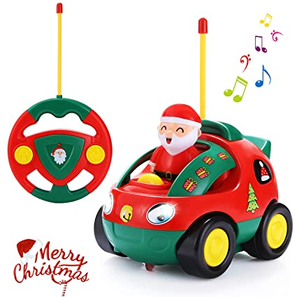 Amazon ANTAPRCIS Cartoon Remote Control Car Racer Toys For