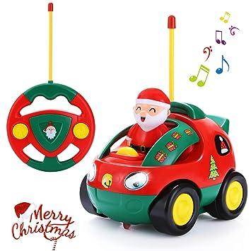 Amazon Com Antaprcis Cartoon Remote Control Car Racer Toys For