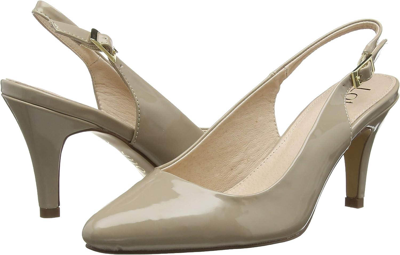 Lotus Womens Lizzie Sling Back Heels