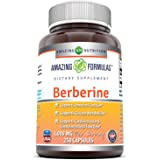 Amazing Formulas Berberine 1000 mg Per Serving , 250 Capsules