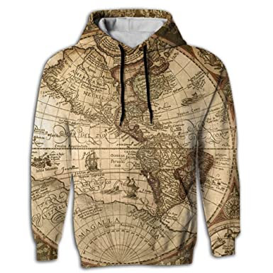 Mens sublimation full print world map drawstring hoodie with chonghwa tsinhwa mens full 3d sublimation world map drawstring hoodie with pockets small gumiabroncs Images