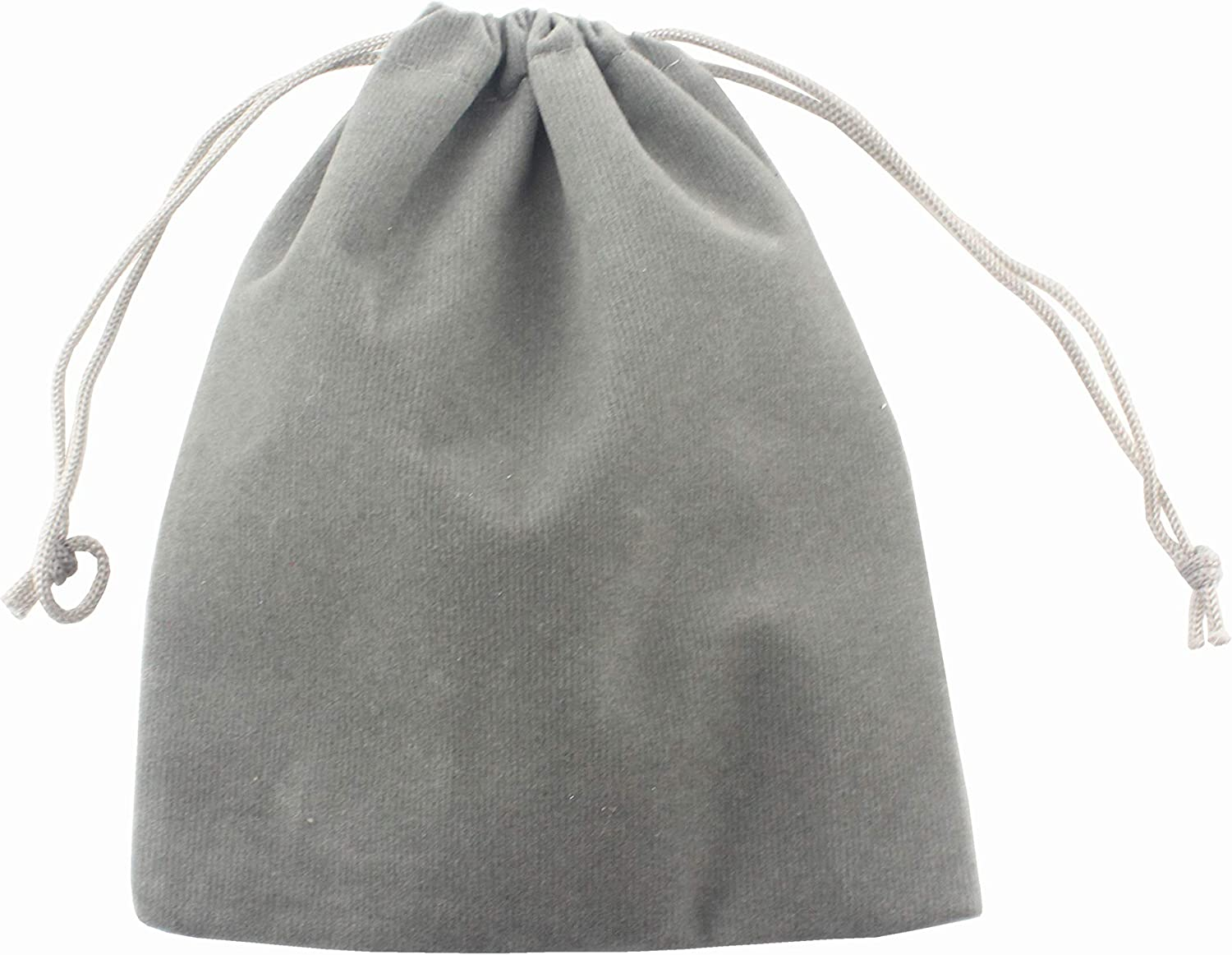 AEAOA Pack of 25 Small Velvet Gift Bags Drawstring Jewelry Pouches Candy Bags Wedding Favors 3 X 2, Black