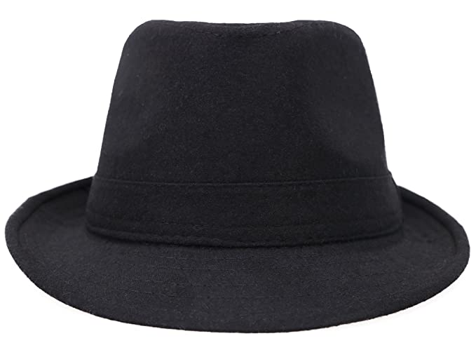 cab476c5024 Simplicity Indiana Men s Adult Deluxe Structured Fedora Hat ...