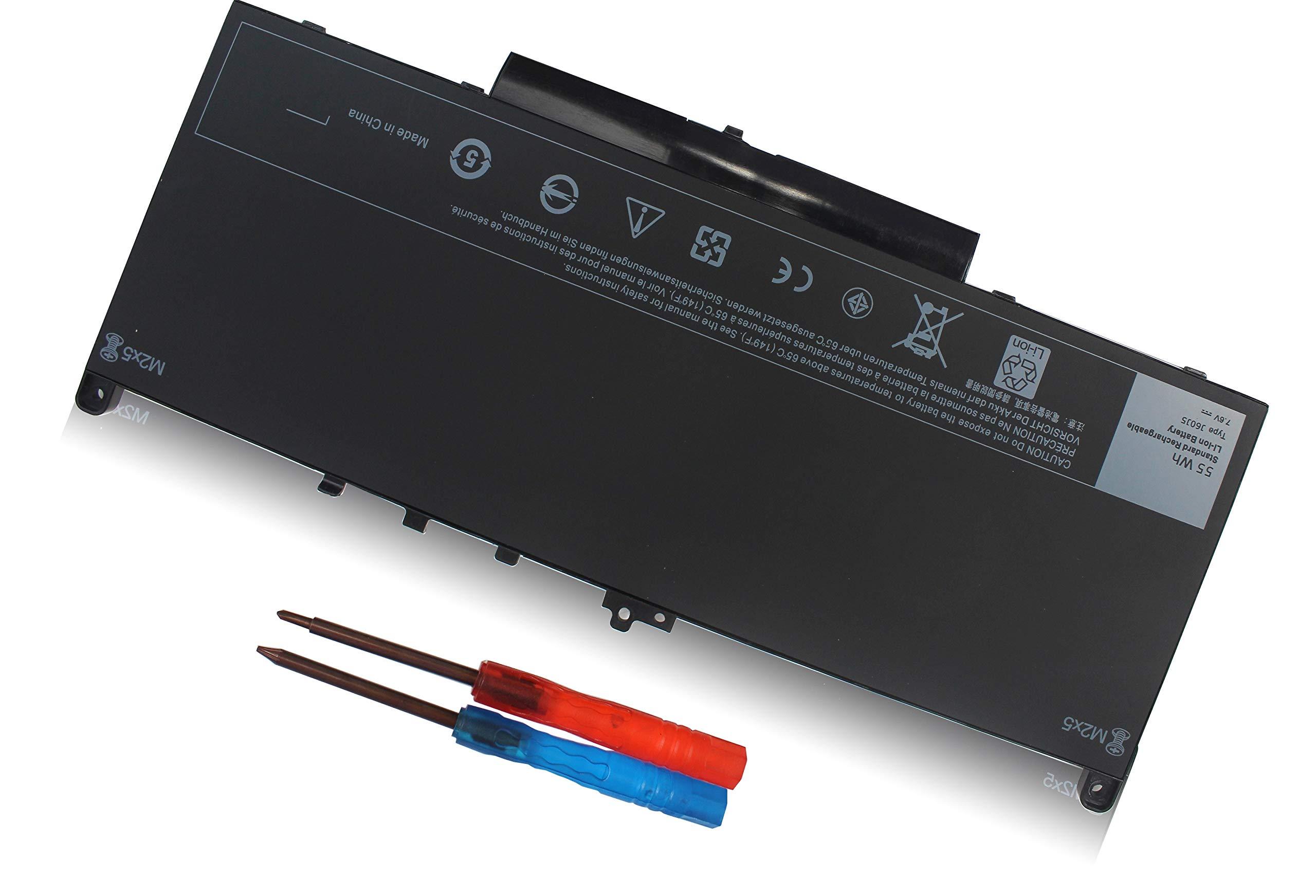 Bateria 55wh Dell Latitude E7270 E7470 J60j5 Mc34y R1v85 242