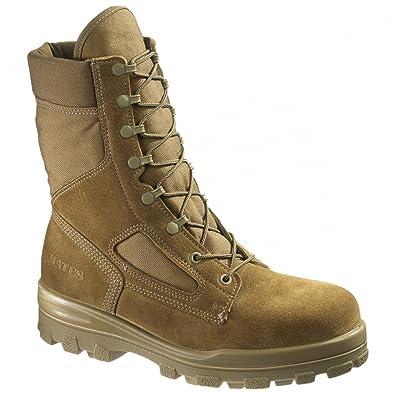 bf91ae932f3 Amazon.com | Bates Men's USMC DuraShock | Fire & Safety Boots
