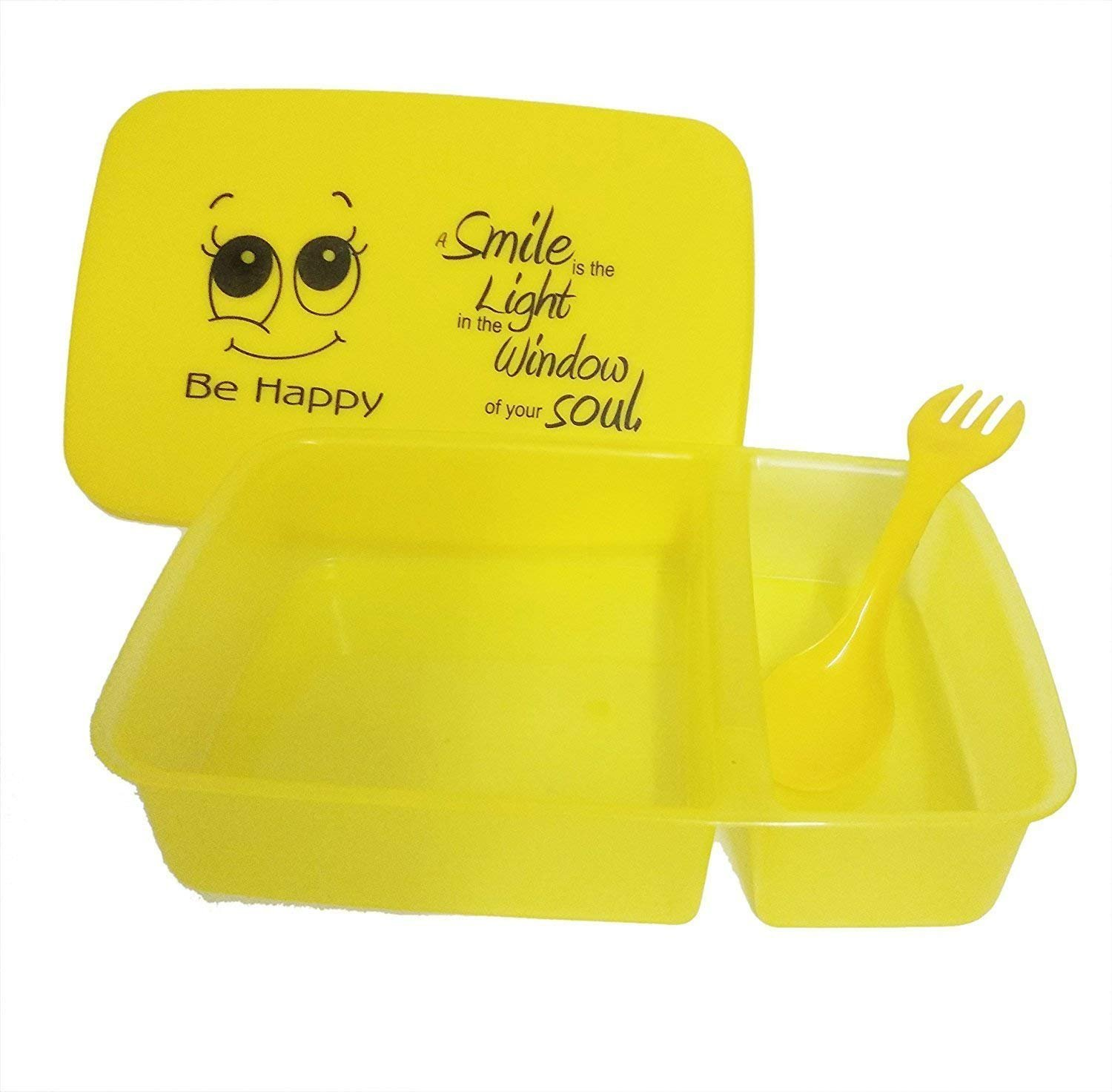 Buy Kieana Combo Set Of Smiley Bottle And Lunch Box For Birthday Return Gifts Kids Yellow Pack 24 Online At Low Prices In India