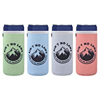 CASE STAR White Claw 12 Ounce Neoprene Slim Can Sleeves Cooler Insulators, Ain't...