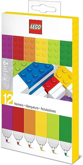 LEGO 12 PACK MARKERS: Amazon.es: Juguetes y juegos